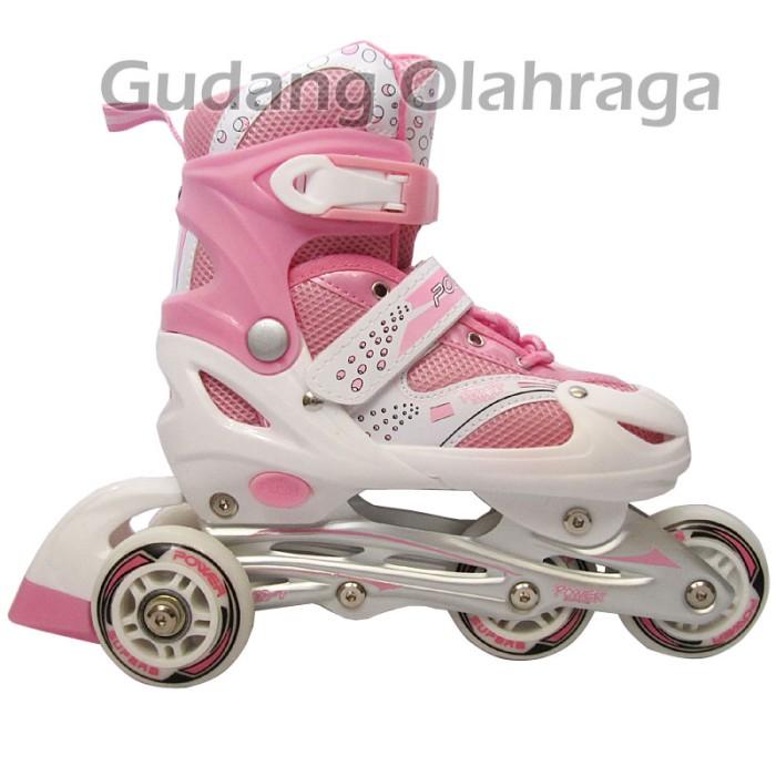 Jual sepatu roda inline skate bajaj karakter pink cek harga di ... 33e241868e