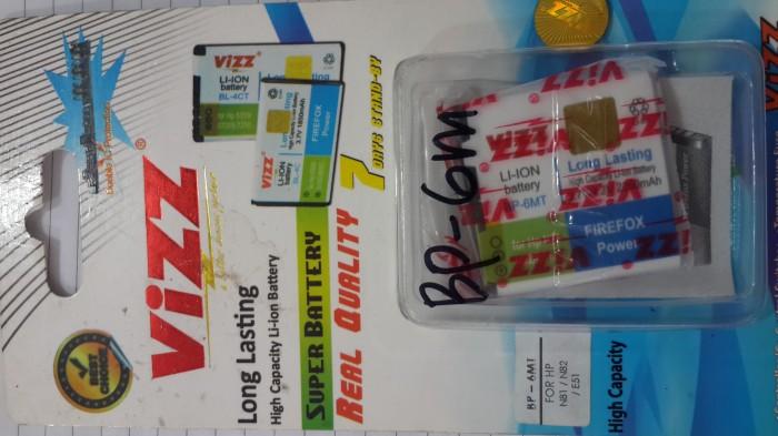 harga Batt batre battery baterai double power vizz nokia bp6mt utk e51 Tokopedia.com