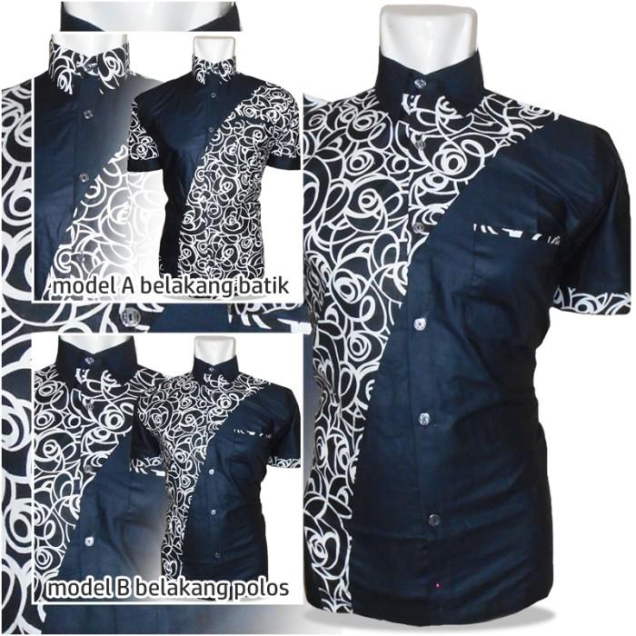 Model Kemeja Batik Pria Kombinasi Trend Koleksi Gambar Terbaru