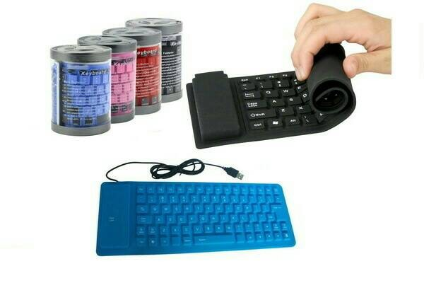 harga Mini keyboard flexible / model lipat fleksible / aksesoris komputer Tokopedia.com
