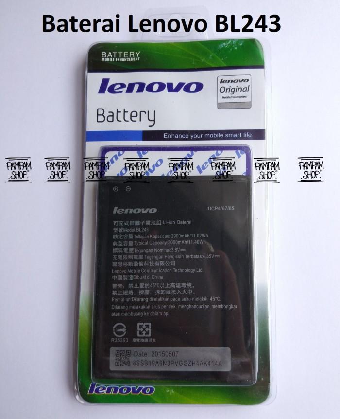 harga Baterai handphone lenovo a7000 bl243 original | bl 243 batre k3 note Tokopedia.com