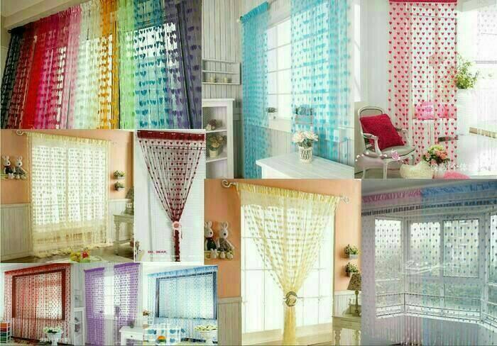 Foto Produk TIRAI BENANG MOTIF LOVE dari Melipir Store