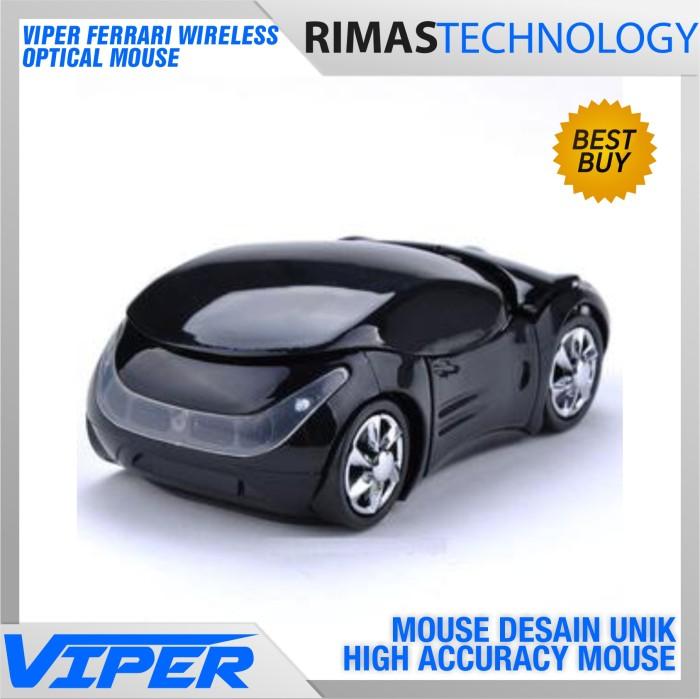 harga Ferrari Wireless Optical Mouse - Penunjuk Pointer Bentuk Mobil Unik Tokopedia.com