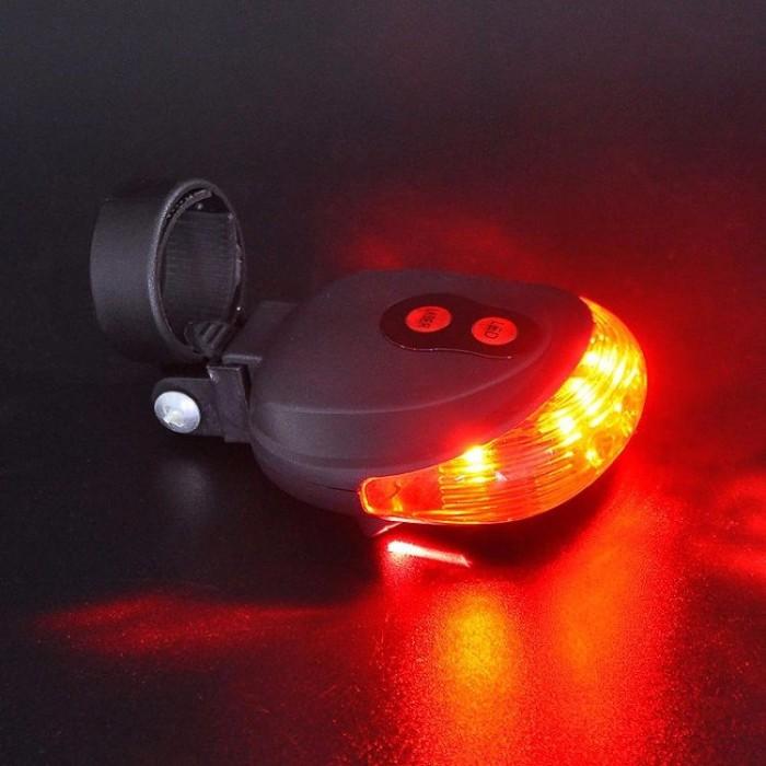 harga Lampu led sepeda bicycle laser strobe tailight 5 led Tokopedia.com