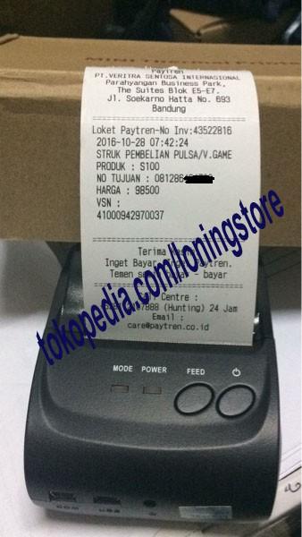 harga Paytren portable bluetooth printer Tokopedia.com