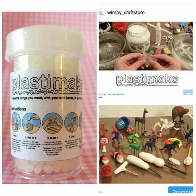 harga Bahan clay bahan craft plastimake biji plastik owl polymorph mainan Tokopedia.com