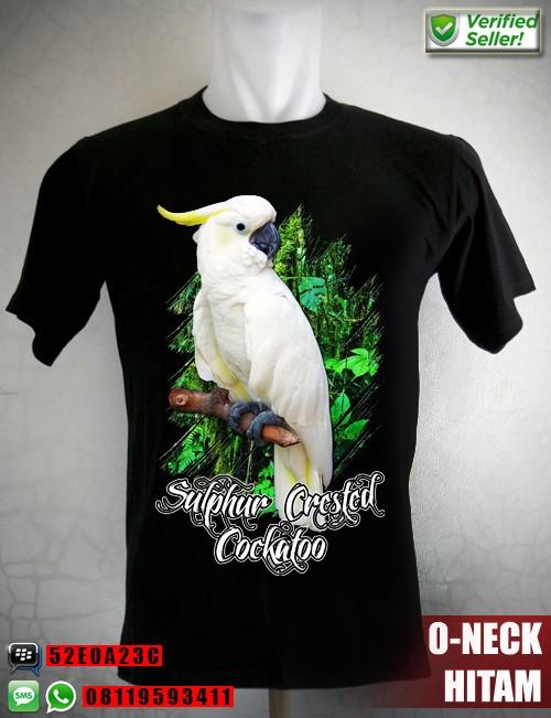 harga Kaos burung kakatua jambul kuning tengger Tokopedia.com