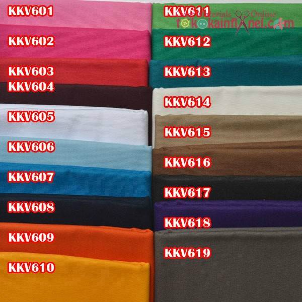 harga Kkv6 kain kanvas polos ukuran 48x145cm Tokopedia.com
