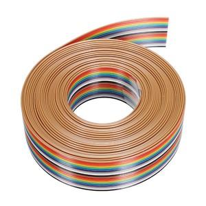 harga Kabel pelangi 20 jalur slot 20p ribbon rainbow cable harga per meter Tokopedia.com