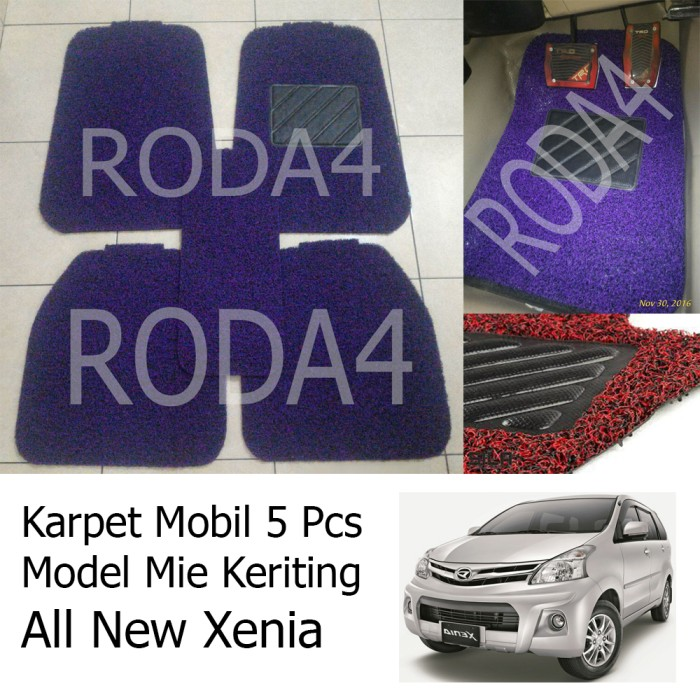 harga Karpet mobil / floor mats universal mie keriting all new xenia Tokopedia.com