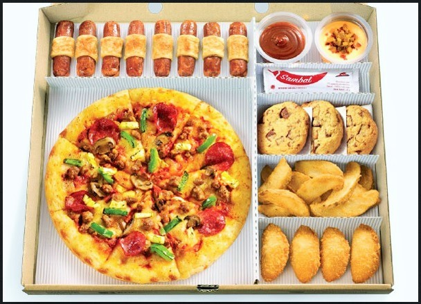 harga Pizza hut paket big box Tokopedia.com