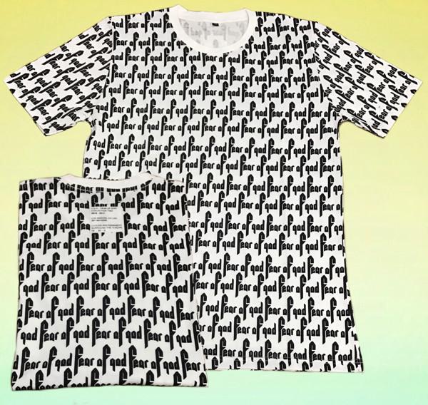 d883e5995 Tshirt  kaos fear of god x vans fullprint limited edition harga ...