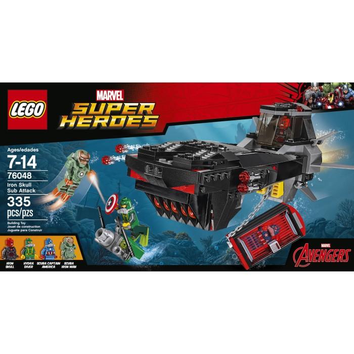 harga 76048 lego super heroes iron skull sub attack ironman Tokopedia.com