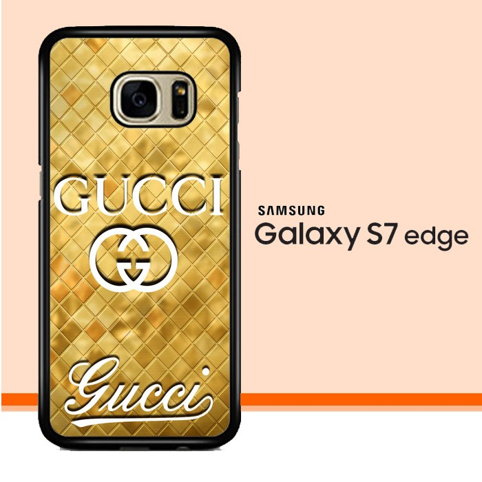 best loved d8a28 32502 Jual Gucci gold logo Z3350 Samsung Galaxy S7 Edge Custom Case Cover - Kota  Semarang - Flazzstore Case | Tokopedia