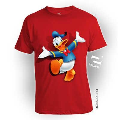 harga Kaos baju distro 3d donal duck ukuran anak by square katun combed 30s Tokopedia.com