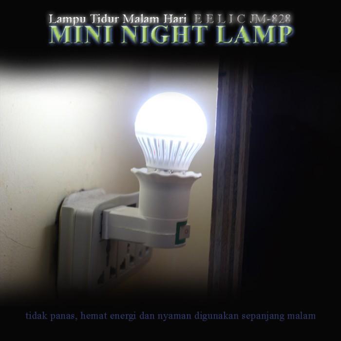 EELIC JM-828 Mini Lamp Warna Putih Lampu cantik Malam Hari