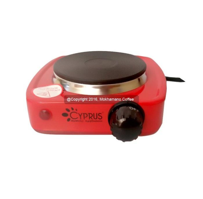 mini electric stove. cyprus mini electric stove kl-0069 (cocok untuk coffee \u0026 bbq jalanan)