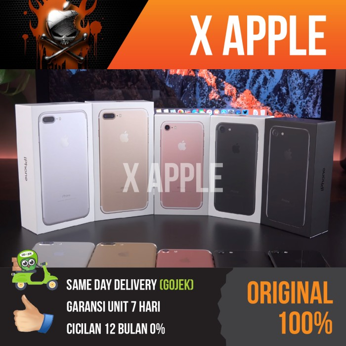 harga Hot ip7 128gb  bnib iphone 128 gb 7 black matte garansi apple original Tokopedia.com