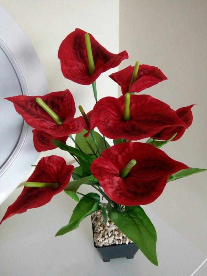 Jual Bunga lily   bunga hias   bunga plastik   bunga artificial ... 040af371ee