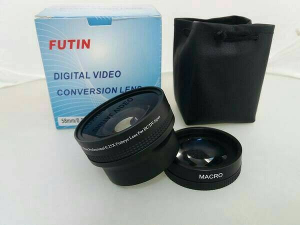 harga Futin converter fisheye for camera dslr canon nikon fish eye Tokopedia.com
