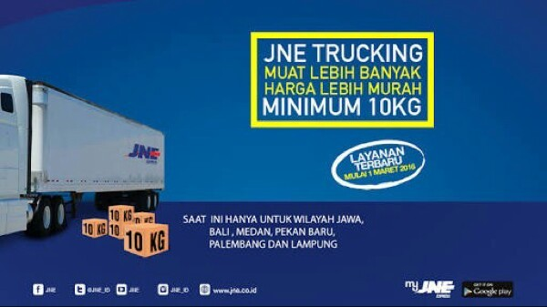 Jual Ganti Ekspedisi Jne Trucking Juwies Tokopedia