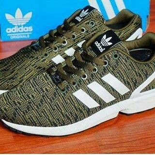 sneakers for cheap 087d8 a5e8b Jual 100% Original Adidas ZX Flux Flyknit - army - Kota Tangerang Selatan -  Halosneakers | Tokopedia