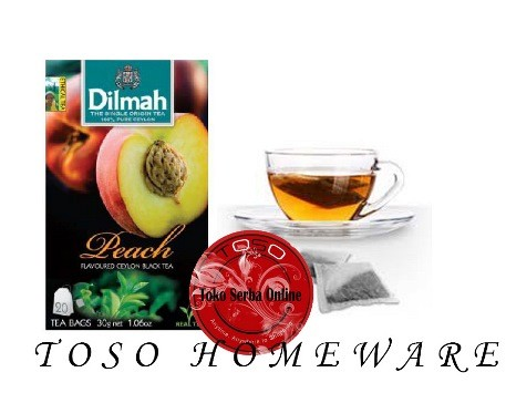 harga Teh dilmah no envelope 20 sachet peach dilmah tea Tokopedia.com