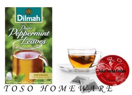 harga Teh dilmah no envelope 20 sachet peppermint dilmah tea Tokopedia.com