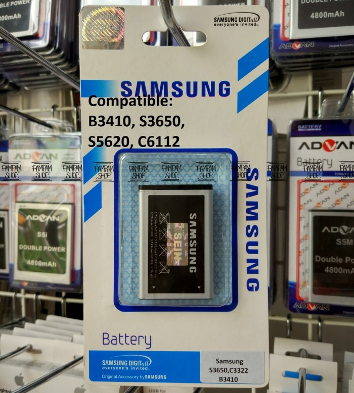 harga Baterai handphone samsung galaxy corby s3650 original | battery sein Tokopedia.com