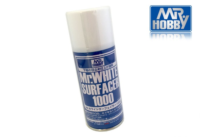 harga Mr white surfacer 1000 spray - cat primer gundam model kit spray Tokopedia.com