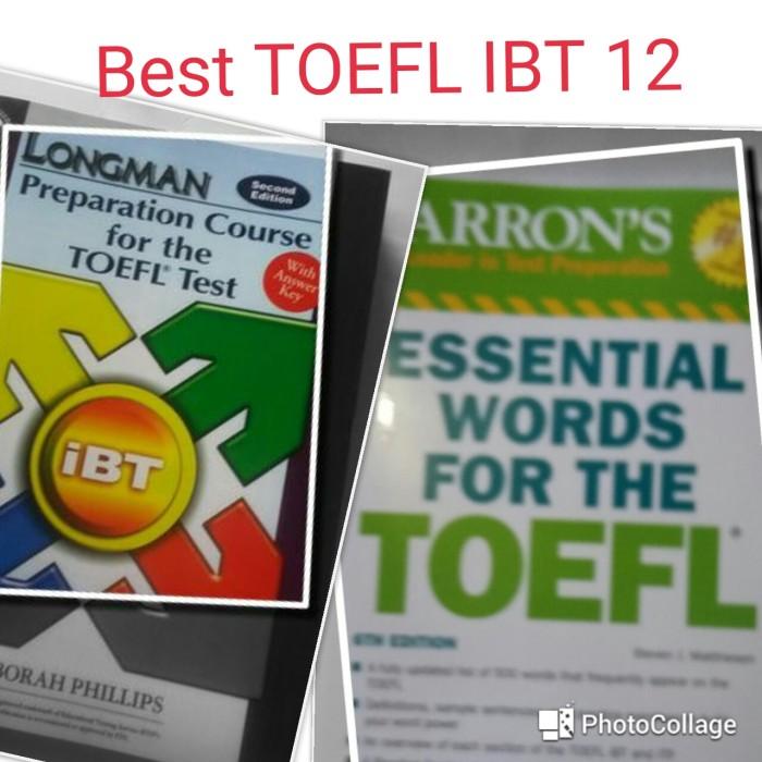 harga Longman toefl ibt & barrons essential words for toefl (2 buku) Tokopedia.com