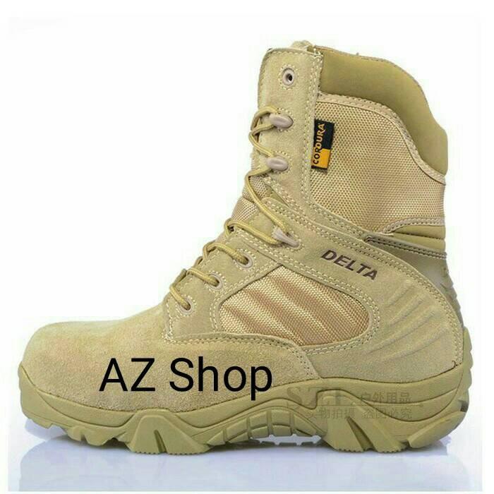 harga Sepatu delta tinggi 8 in gurun   sepatu brimob  sepatu pdl   touring  Tokopedia 78b14f5c6b
