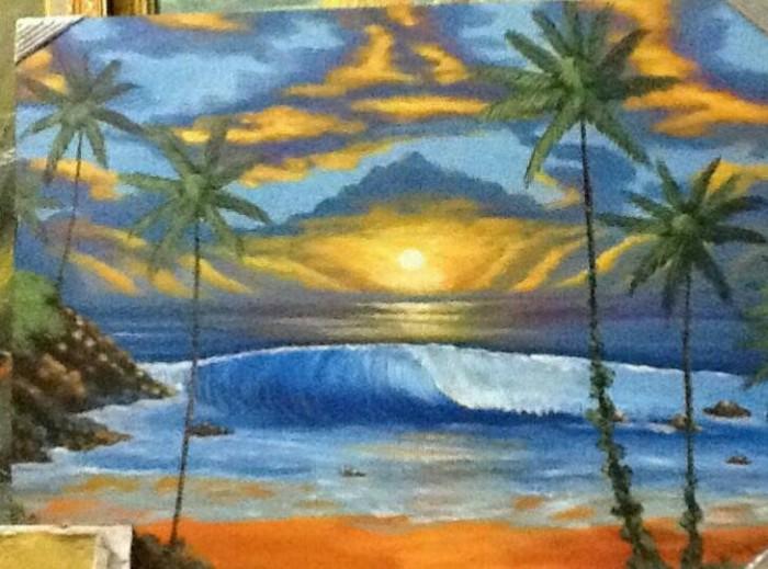 760 Lukisan Pemandangan Gunung Dan Danau Gratis Terbaik