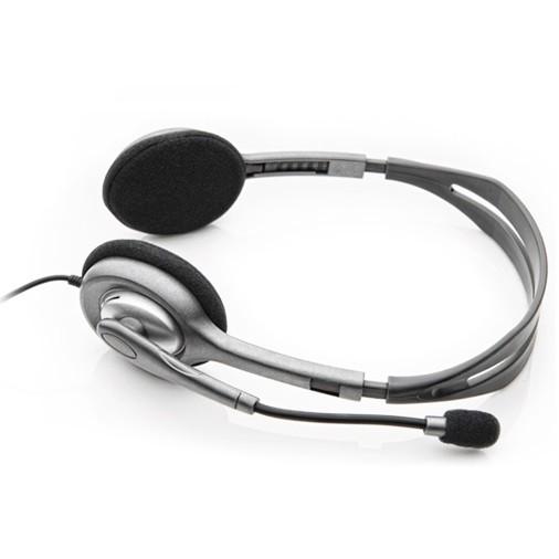 Logitech Stereo Headset - H111 - Hitam