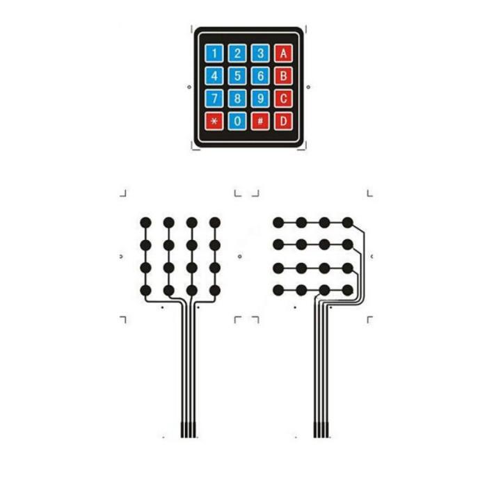 Jual Membrane Keypad Arduino 16 Key Keyboard 4 x 4 AVR Matrix Array - Kota  Cimahi - Zunixe | Tokopedia