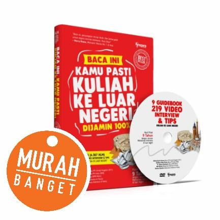harga Buku + Dvd Jurus Kuliah Ke Luar Negeri (jkln) Tokopedia.com