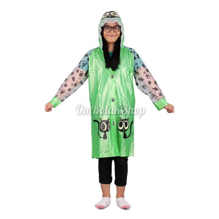 Jas hujan anak poncho animal unyu modis. rain coat modis kekinian