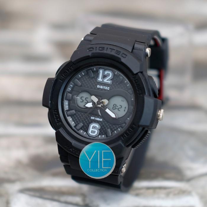 Jam Tangan Wanita Digitec DG 2096 (DG-2096-T) Dual Time -