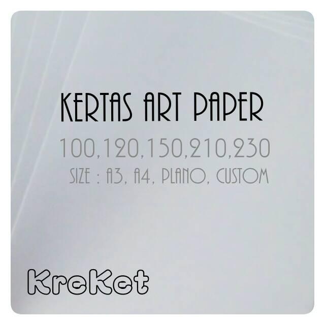 Foto Produk Kertas Art Paper 210g Plano 65x100cm dari Kreatifitas-Keterampilan