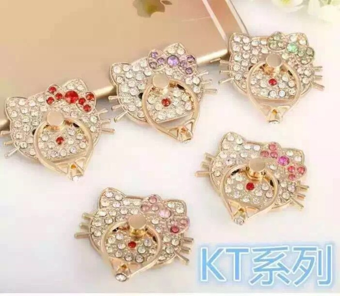 adb010bc7 Iring Diamond / Ring Holder / Ring Stand Cincin HP / Iring Hello Kitty