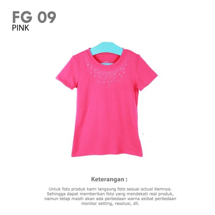 harga Girls t-shirt pink branded cotton pakaian baju kaos anak perempuan Tokopedia.com