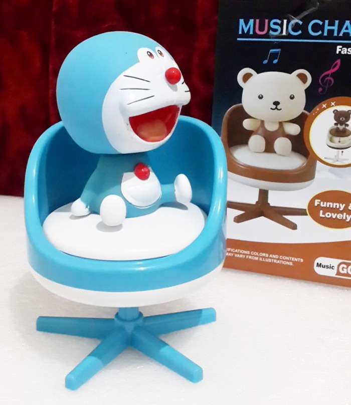 Jual Kado Ulang Tahun Music Chair Doraemon Hadiah Spesial Birthday