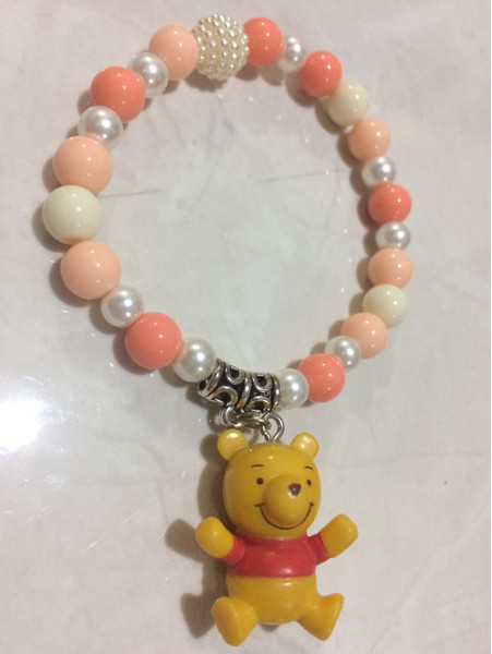 harga Gelang disney character winnie the pooh / armcandy karet elastis Tokopedia.com