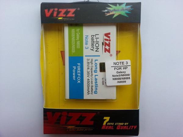 harga Baterai vizz samsung galaxy note 3 | n9000 4500mah garansi resmi Tokopedia.com