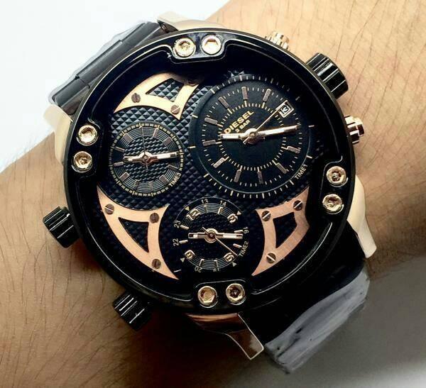 harga Jam tangan pria diesel sport triple time limited edition Tokopedia.com
