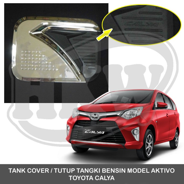 750 Jual Tank Cover Tutup Tangki Bensin Model Aktivo Toyota Calya Hkw Variasi Mobil Tokopedia