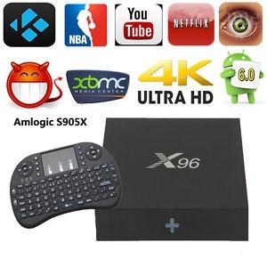 harga Paket android tv box x96 (ram 2g, rom 16g, android 6.0) &keyboard Tokopedia.com