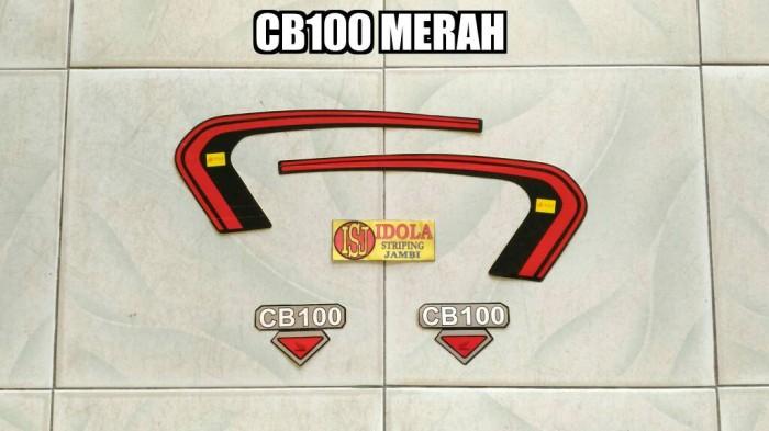 harga Striping cb100 merah Tokopedia.com