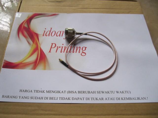 harga Kabel teflon rg174 pigtail mmcx to n male gold untuk mikrotik rb751 atau minipci xr ubiquity Tokopedia.com