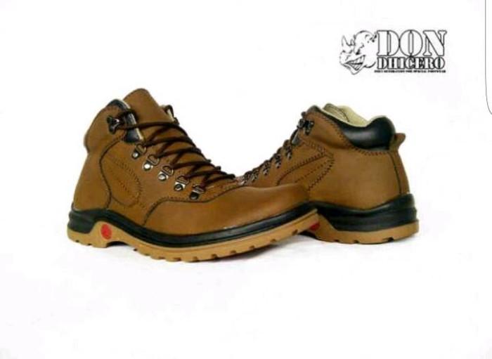 harga Sepatu Don Dhicero Boots Original Brown Tokopedia.com